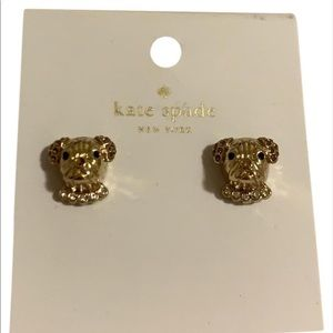 Kate Spade Puppy Earrings